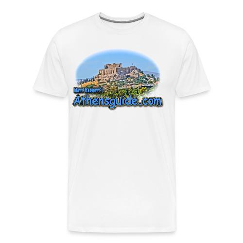 Athensguide Acropolis (men) - Men's Premium T-Shirt