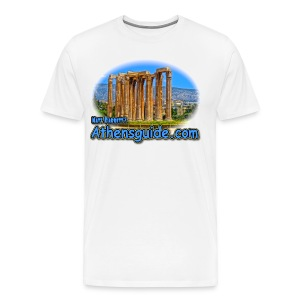 Athensguide Temple of Zeus (men) - Men's Premium T-Shirt
