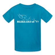 Kids' Shirts ~ Kids' T-Shirt ~ Blizzard of '77