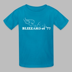 Blizzard of '77 - Kids' T-Shirt