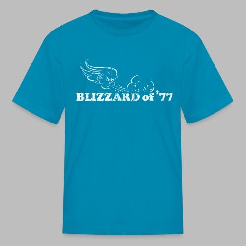 Blizzard of '77 - Kids' T-Shirt