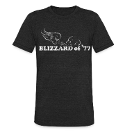 T-Shirts ~ Unisex Tri-Blend T-Shirt ~ Blizzard of '77