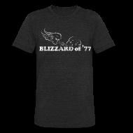 T-Shirts ~ Unisex Tri-Blend T-Shirt ~ Blizzard of '77