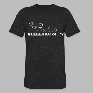 Blizzard of '77 - Unisex Tri-Blend T-Shirt by American Apparel