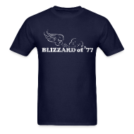 T-Shirts ~ Men's T-Shirt ~ Blizzard of '77