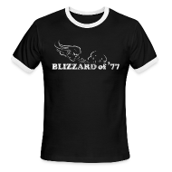 T-Shirts ~ Men's Ringer T-Shirt ~ Blizzard of '77