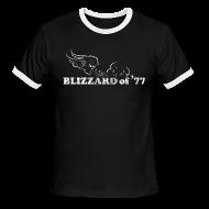 T-Shirts ~ Men's Ringer T-Shirt ~ Blizzard of '77