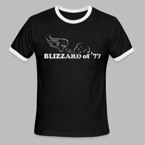 Blizzard of '77 - Men's Ringer T-Shirt