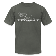T-Shirts ~ Men's T-Shirt by American Apparel ~ Blizzard of '77