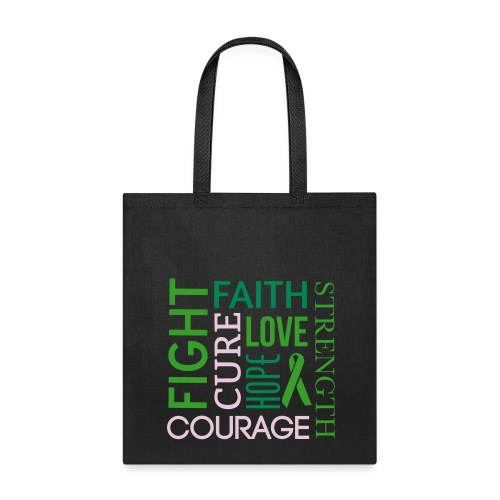 Fight,Faith, and Courage Bag - Tote Bag