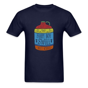 Farm Boy Swill - Men's T-Shirt