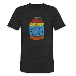 Farm Boy Swill - Unisex Tri-Blend T-Shirt by American Apparel