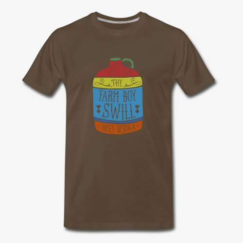 Farm Boy Swill - Men's Premium T-Shirt