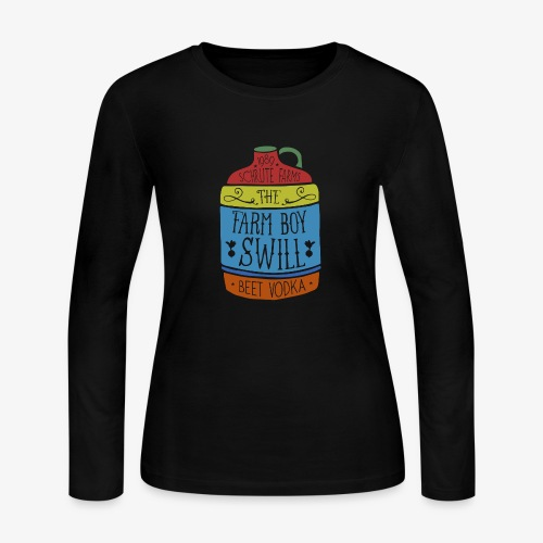 Farm Boy Swill - Women's Long Sleeve Jersey T-Shirt