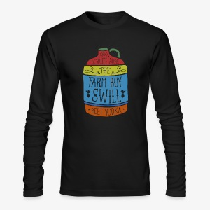 Farm Boy Swill - Men's Long Sleeve T-Shirt by Next Level