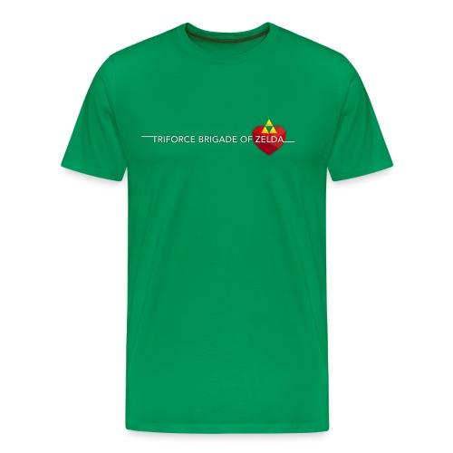 TBZ Men's T-Shirt [Premium] Green - Men's Premium T-Shirt