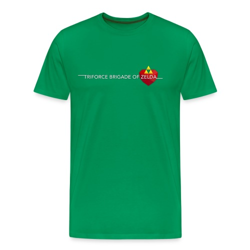 TBZ Men's T-Shirt [Premium] Green - Men's Premium T-Shirt