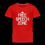 Baby & Toddler Shirts ~ Toddler Premium T-Shirt ~ Free speech zone