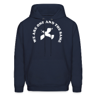 Hoodies ~ Men's Hooded Sweatshirt ~ We are one and the same
