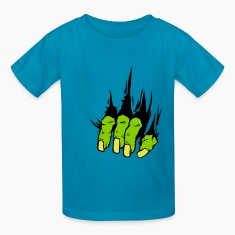 ZOMBIE HAND COME OUT KID T SHIRT