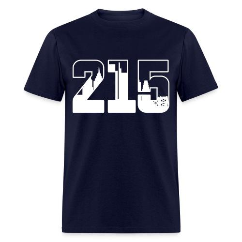 215: The Skyline - Men's T-Shirt