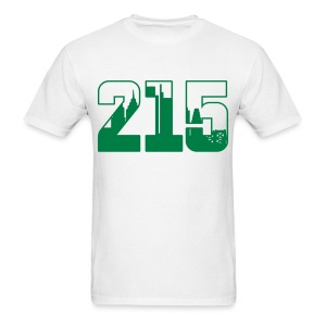215: The Skyline - Men's T-Shirt