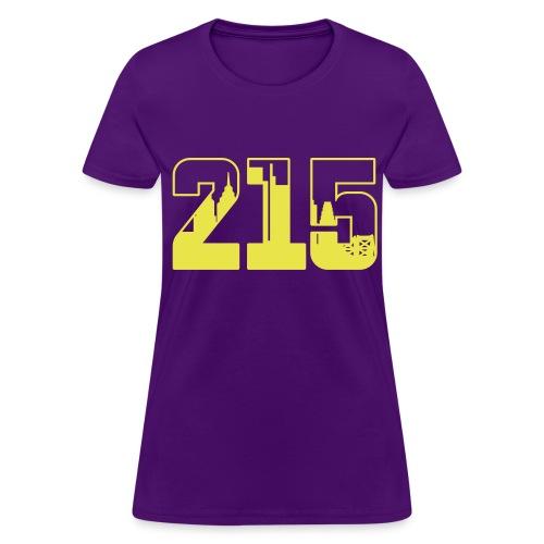 215: The Skyline - Women's T-Shirt
