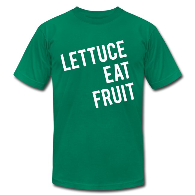 Lettuce Eat Fruit - Mens Tee
