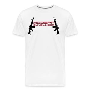 Modern Gunslinger AR-15 Shirt - Men's Premium T-Shirt