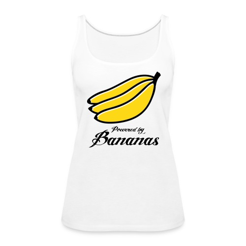Powered by Bananas Womens Tank - Women's Premium Tank Top