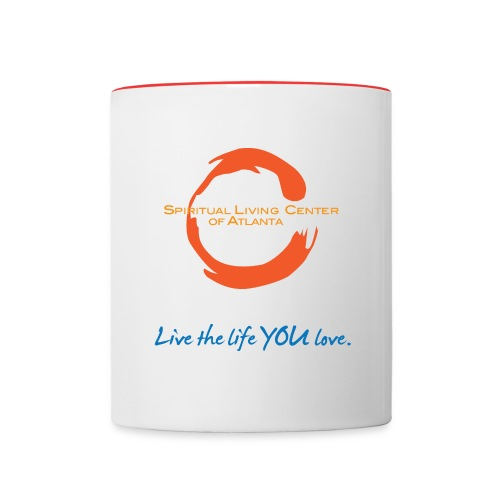 Live the Life You Love Coffee Mug - Contrast Coffee Mug