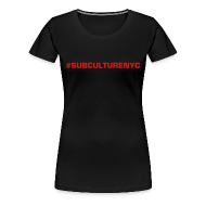 T-Shirts ~ Women's Premium T-Shirt ~ SUBCULTURE SIMPLE