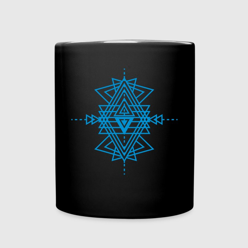 a geometric pattern tattoo Mugs & Drinkware - Full Color Mug