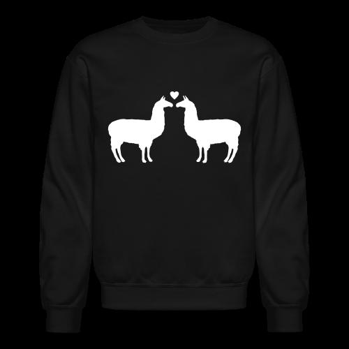Llama Llove Crewneck  - Crewneck Sweatshirt