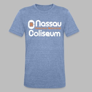 Nassau - Unisex Tri-Blend T-Shirt by American Apparel