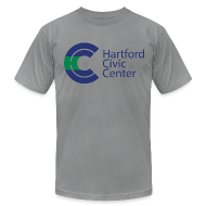 T-Shirts ~ Men's T-Shirt by American Apparel ~ Hartford Civic Center