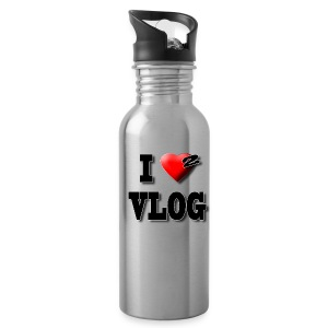 I Love 2 Vlog  Water Bottle - Water Bottle