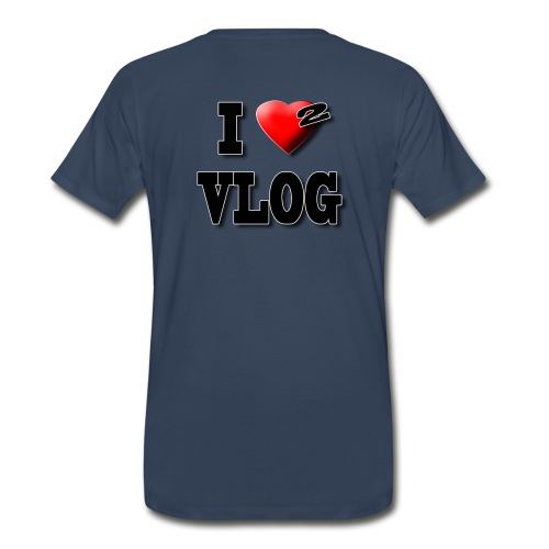 I Love 2 Vlog  - Men's Premium T-Shirt