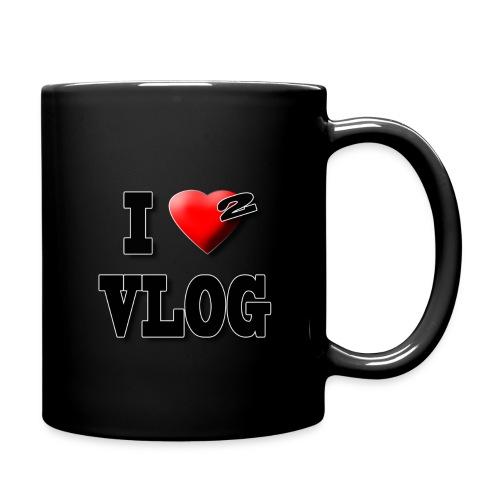 I Love 2 Vlog   - Full Color Mug