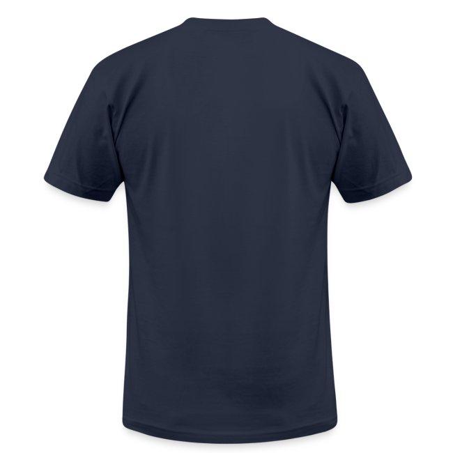 Mens T-shirt by American Apparel | 65 Pontiac GTO | Classic American Automotive