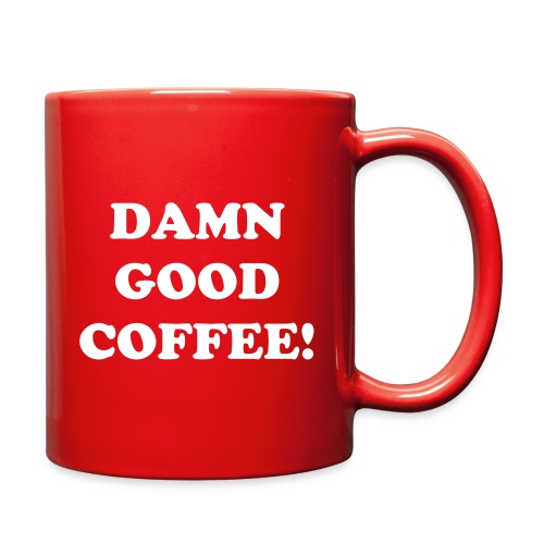 DAMN GOOD COFFEE MUG - Full Color Mug