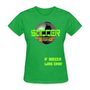 Buckingham high school soccer team - Women's T-Shirt