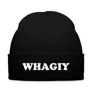 Whagiy Knitted - Knit Cap with Cuff Print