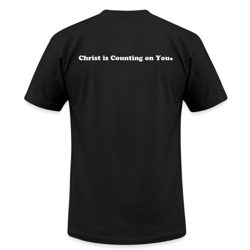American Made De Colores Dark Tee with Commission on Back - Men's  Jersey T-Shirt