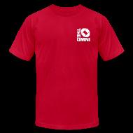 T-Shirts ~ Men's T-Shirt by American Apparel ~ The Omni - Atlanta, GA
