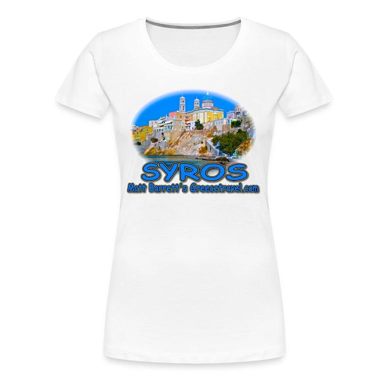 Syros (women) - Women's Premium T-Shirt