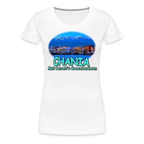 CHANIA CRETE (women) - Women's Premium T-Shirt