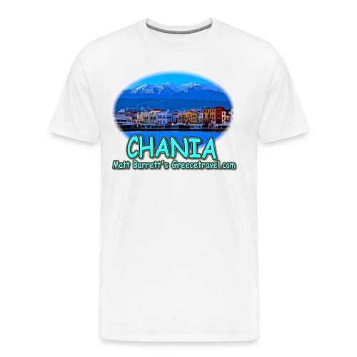 CHANIA CRETE (men) - Men's Premium T-Shirt
