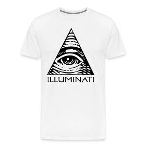 Illuminati T-Shirt | Men's - Men's Premium T-Shirt