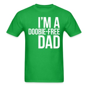 Doobie-Free Dad - Men's T-Shirt
